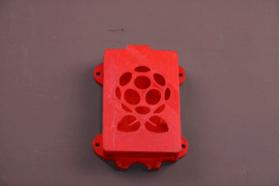 树莓派盒子,带安装孔